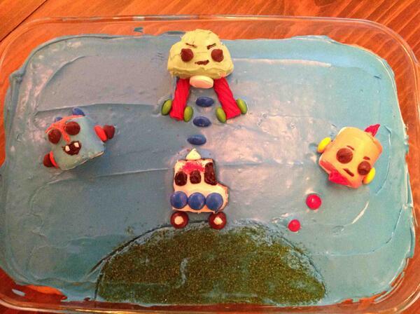 Robots Cake
