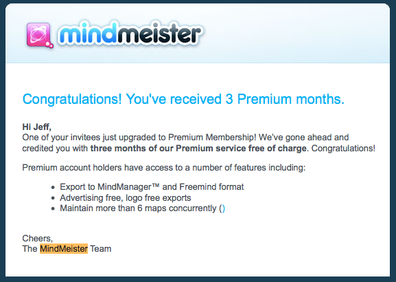 Mind Meister gets 1to1toMany marketing
